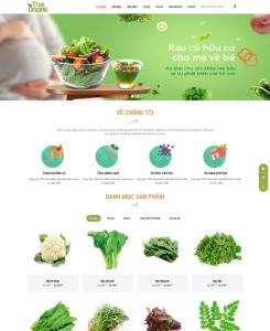 Website trái cây - hải sản