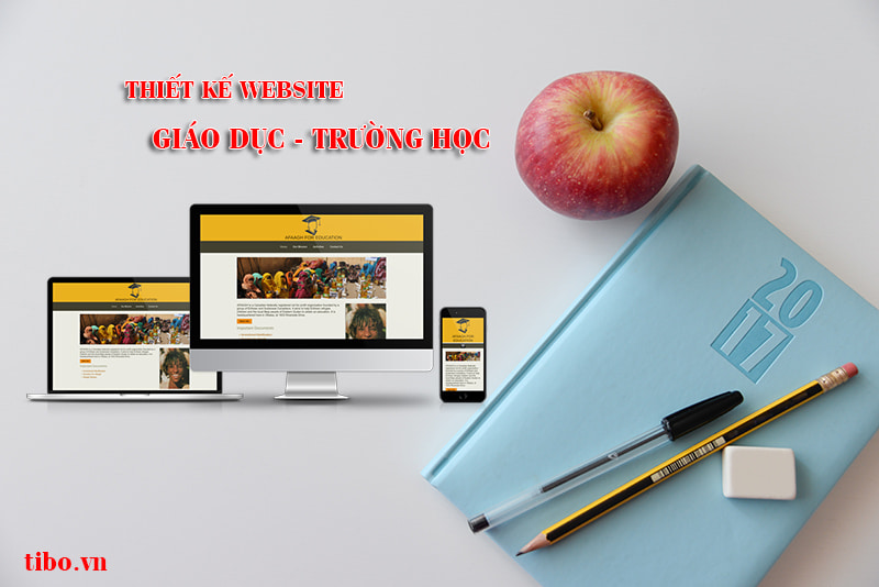 Website giáo dục trường học