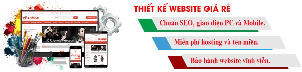 thiết kế website giá rẻ chuyên nghiệp tại TPHCM