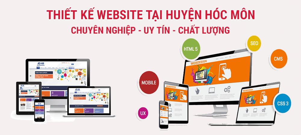 Thiết kế web tại huyện Hóc Môn