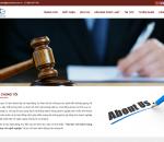Thiết kế website công ty luật, văn phòng luật sư