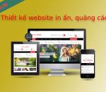 Thiết kế website in ấn, quảng cáo