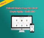 Thiết kế website trung tâm gia sư