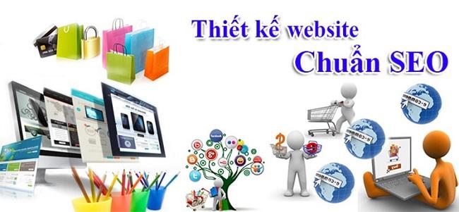 Thiết kế website chuẩn SEO ở tại TPHCM