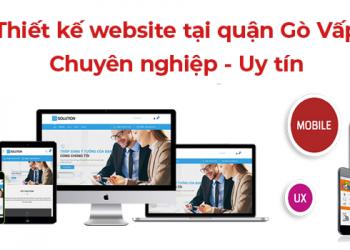 Thiết kế website tại quận Gò Vấp