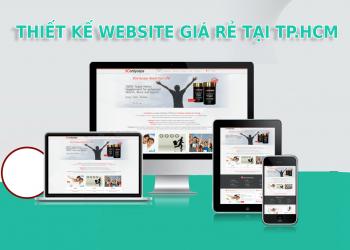 Công ty thiết kế website giá rẻ chuyên nghiệp tại TPHCM