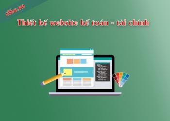 Thiết kế website dịch vụ kế toán tài chính